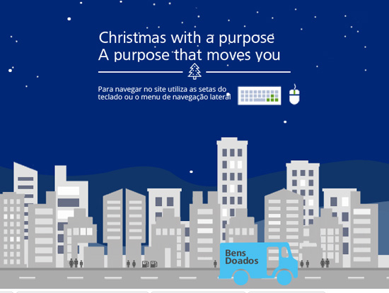 Website Deloitte - Christmas with a purpose