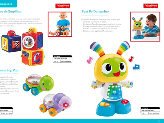 BABY GEAR PORTUGAL - Fisher-Price