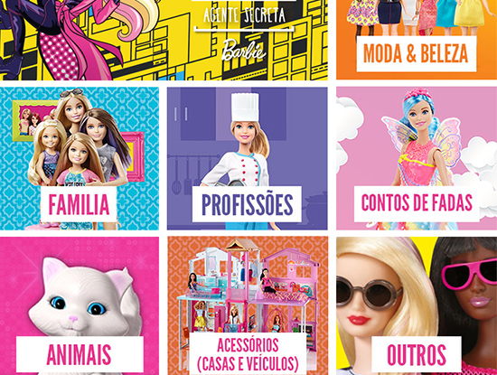 Barbie loja Continente On-line