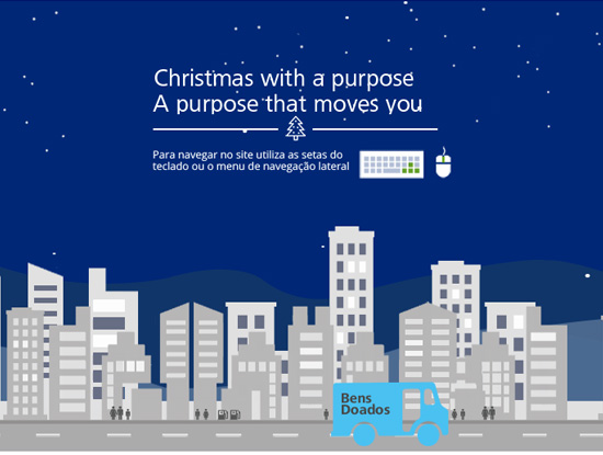 Deloitte - Christmas with a purpose Website