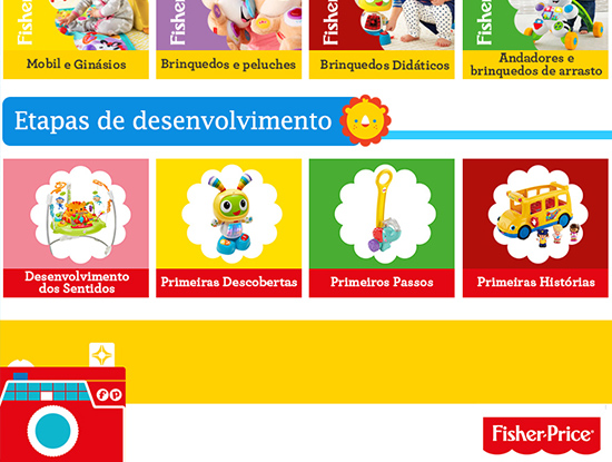 Fisher-Price loja Continente On-line