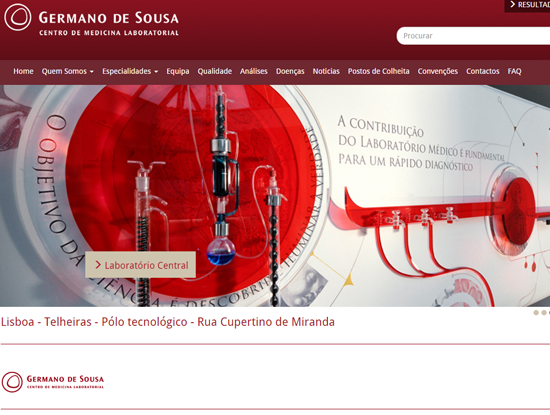 Germano de Sousa Website