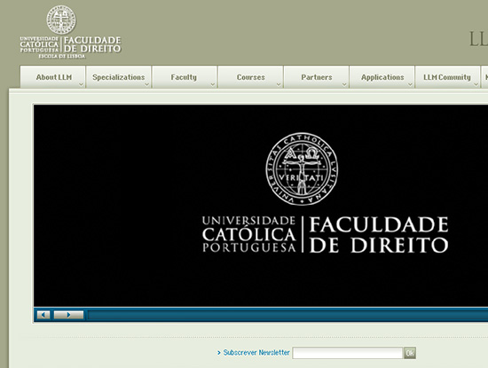 LLM Católica Website