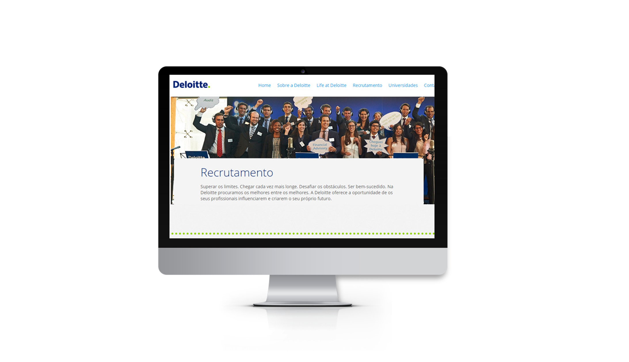 Deloitte Recrutamento Website