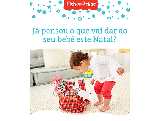 Fisher-price Newsletter Natal