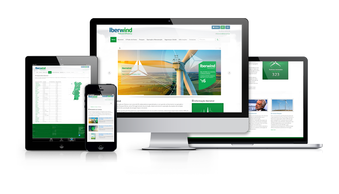 Iberwind - Natural Efficiency Website